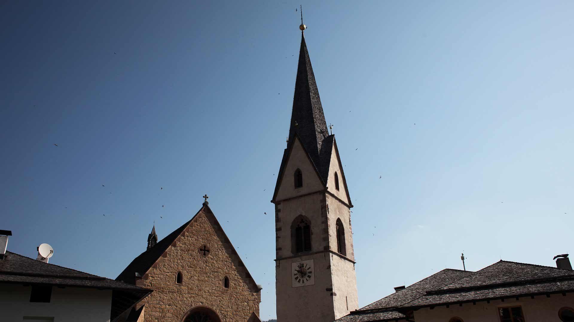 La chiesa parrocchiale di Proves