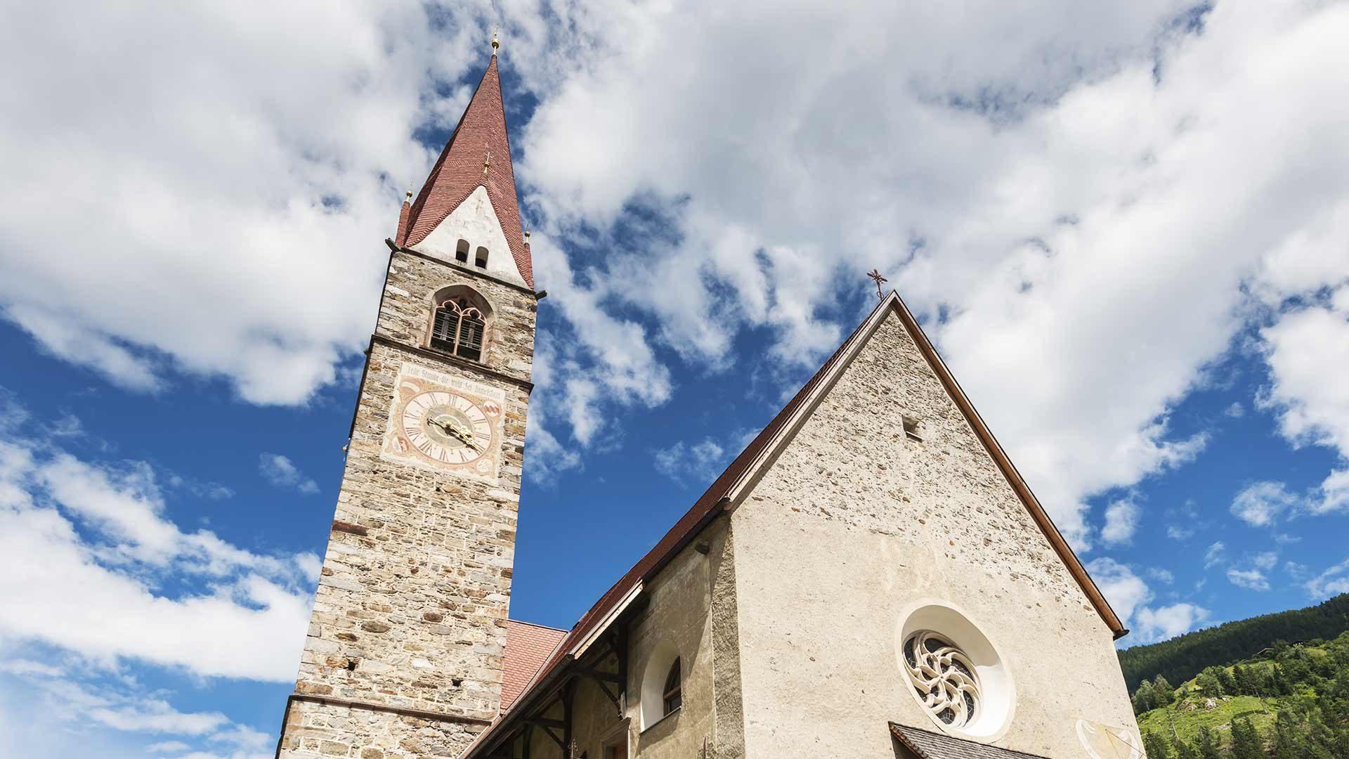 La chiesa parrocchiale di S. Pancrazio