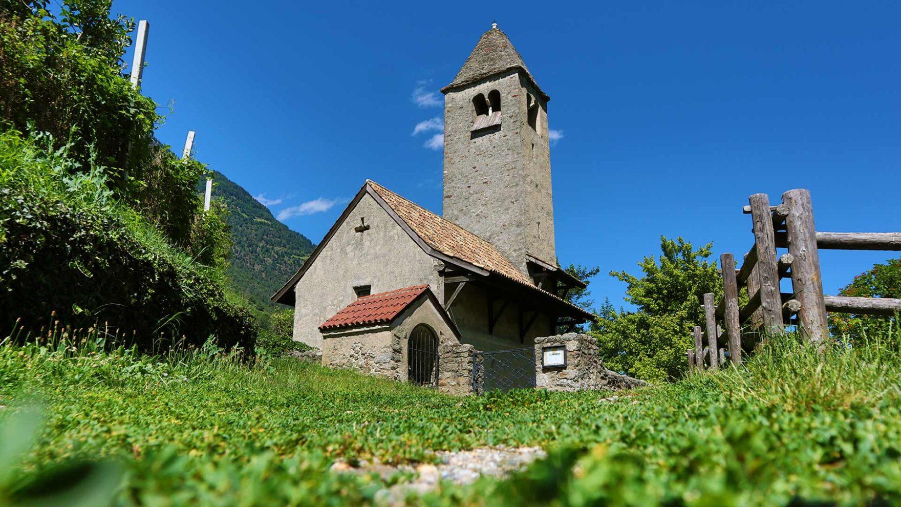 La chiesetta di San Procolo a Naturno