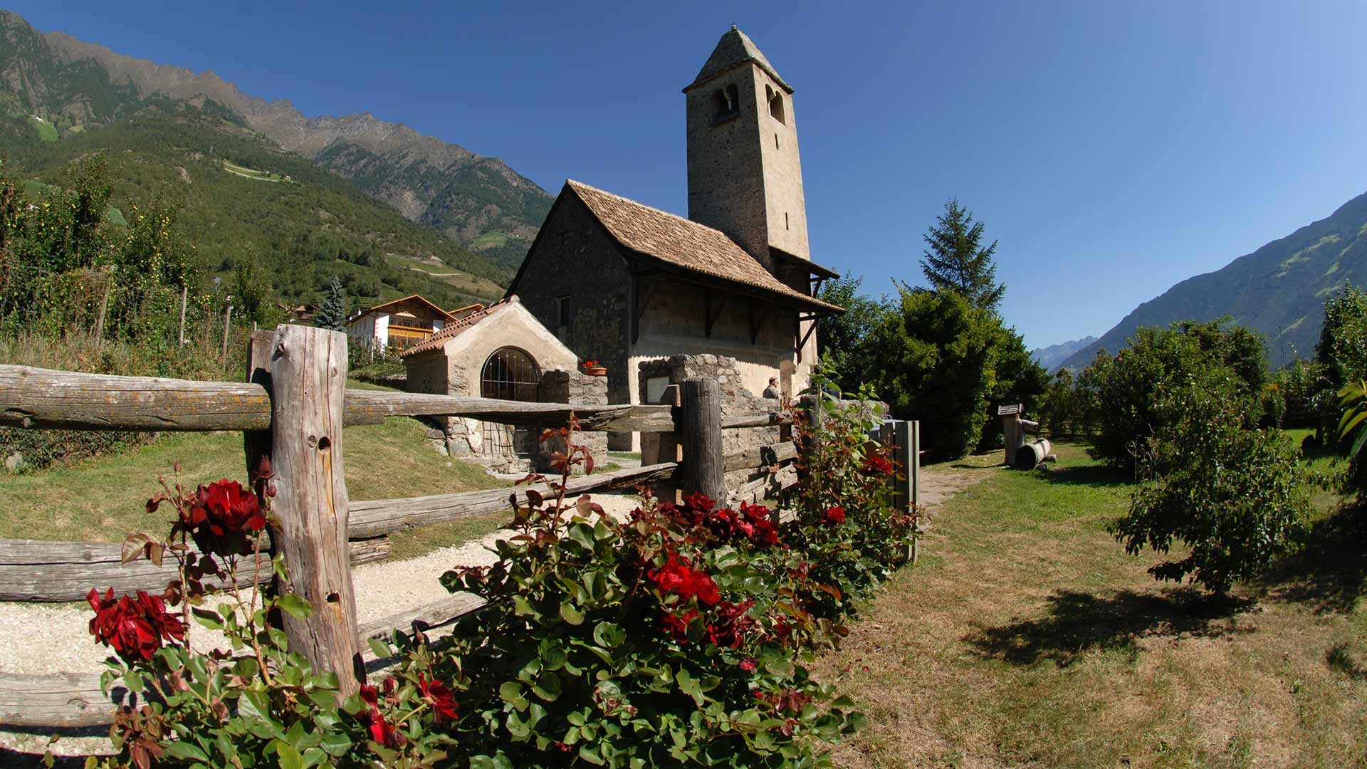 Vista sulla chiesa San Procolo