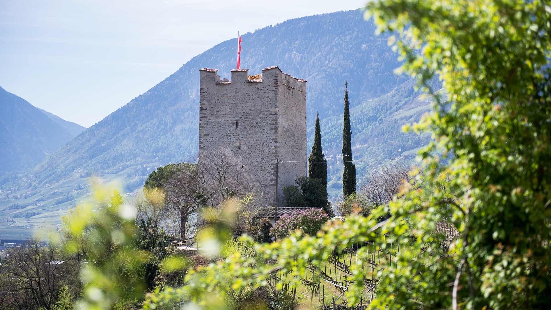La Torre delle polveri a Merano e dintorni