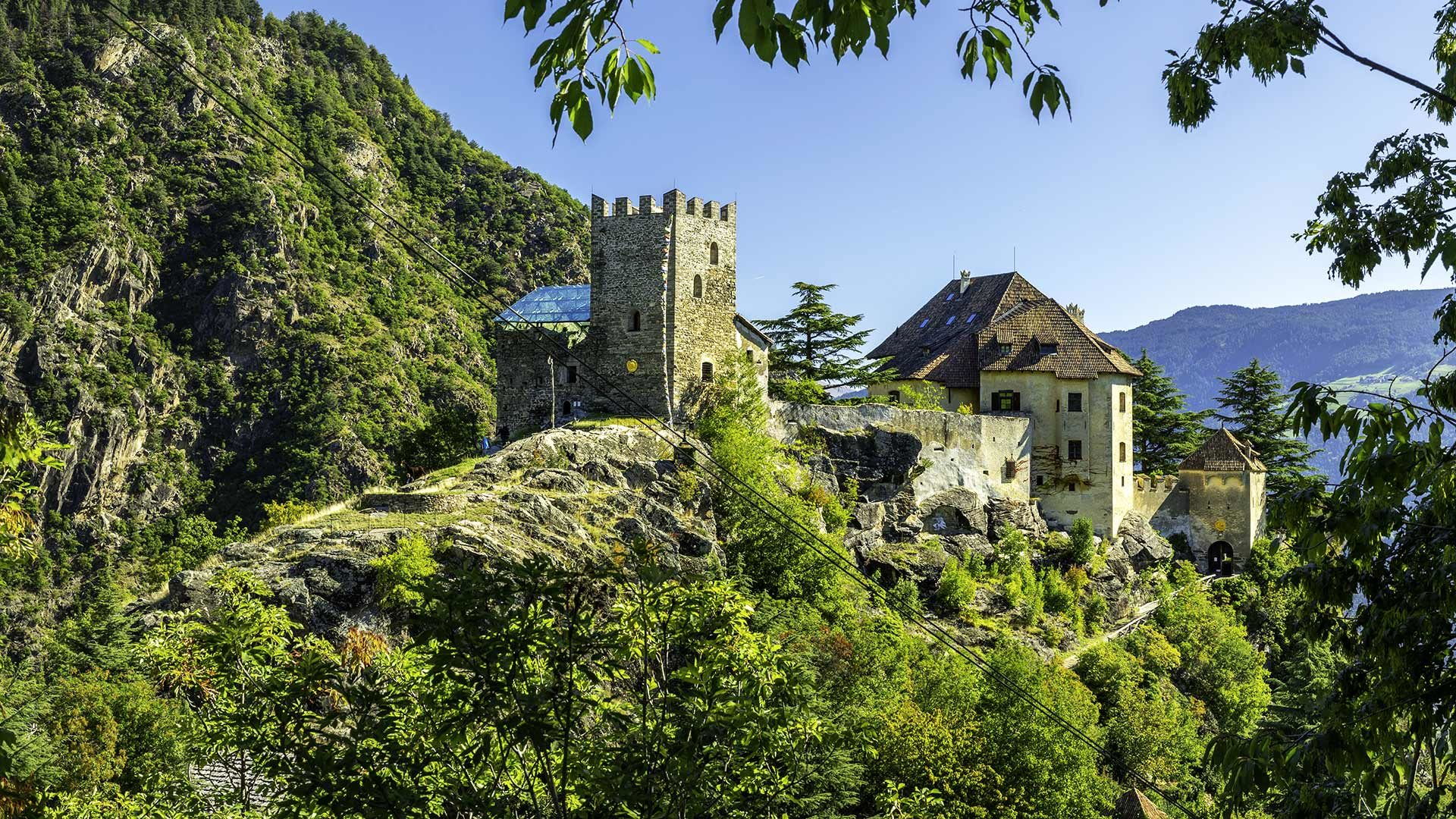 Vista sul Castel Juval