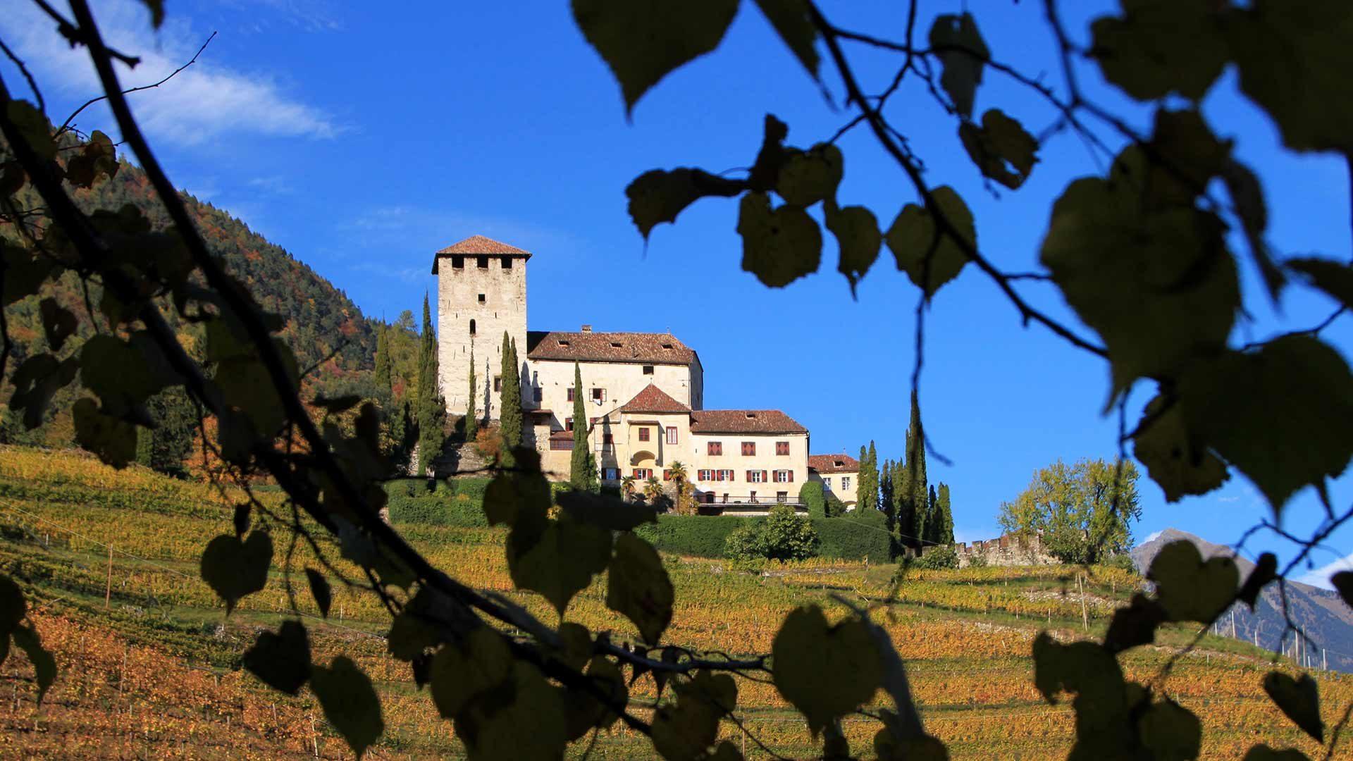 Castel Lebenberg - autunno