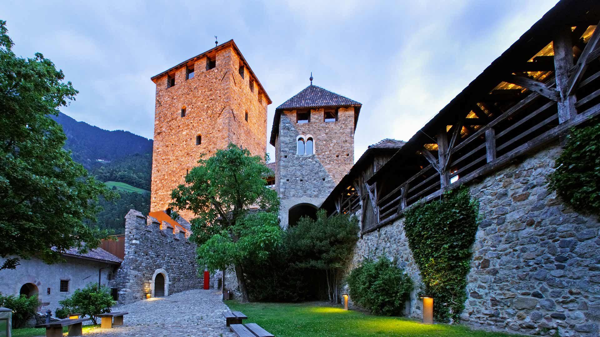 Castel Tirolo - Atmosfera serale