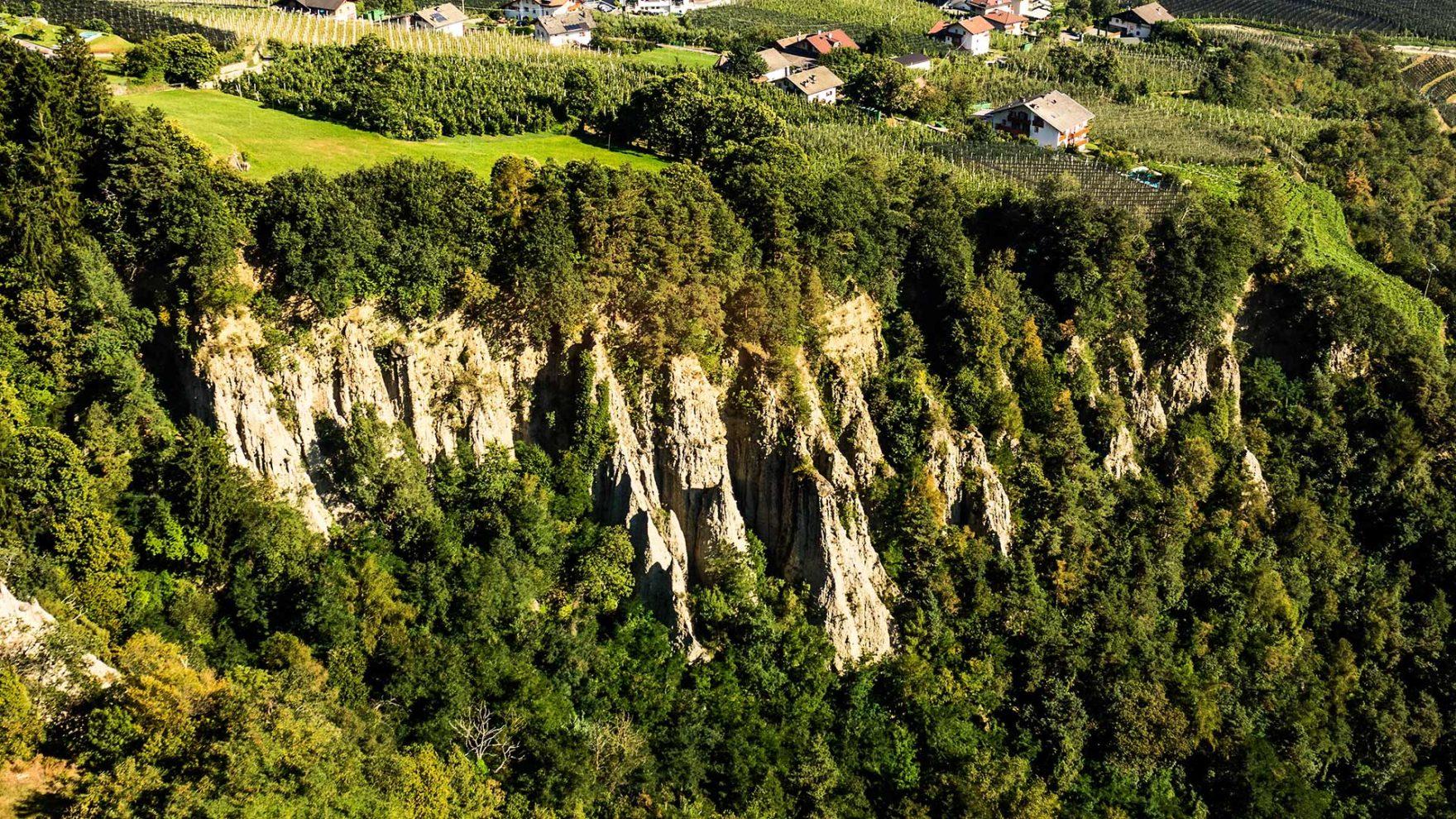 Le piramidi di terra a Tirolo