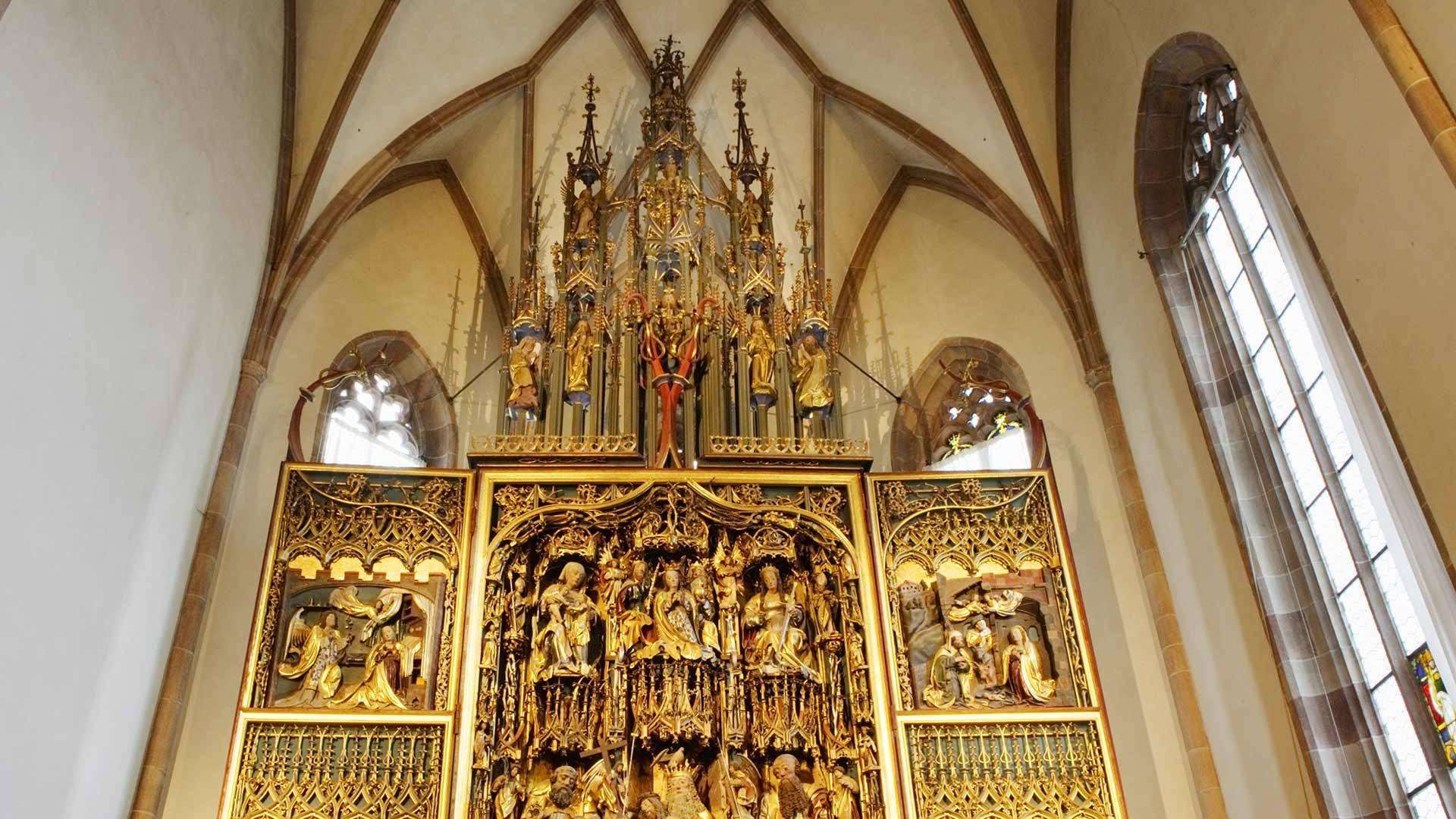 L'Altare di Schnatterpeck a Lana
