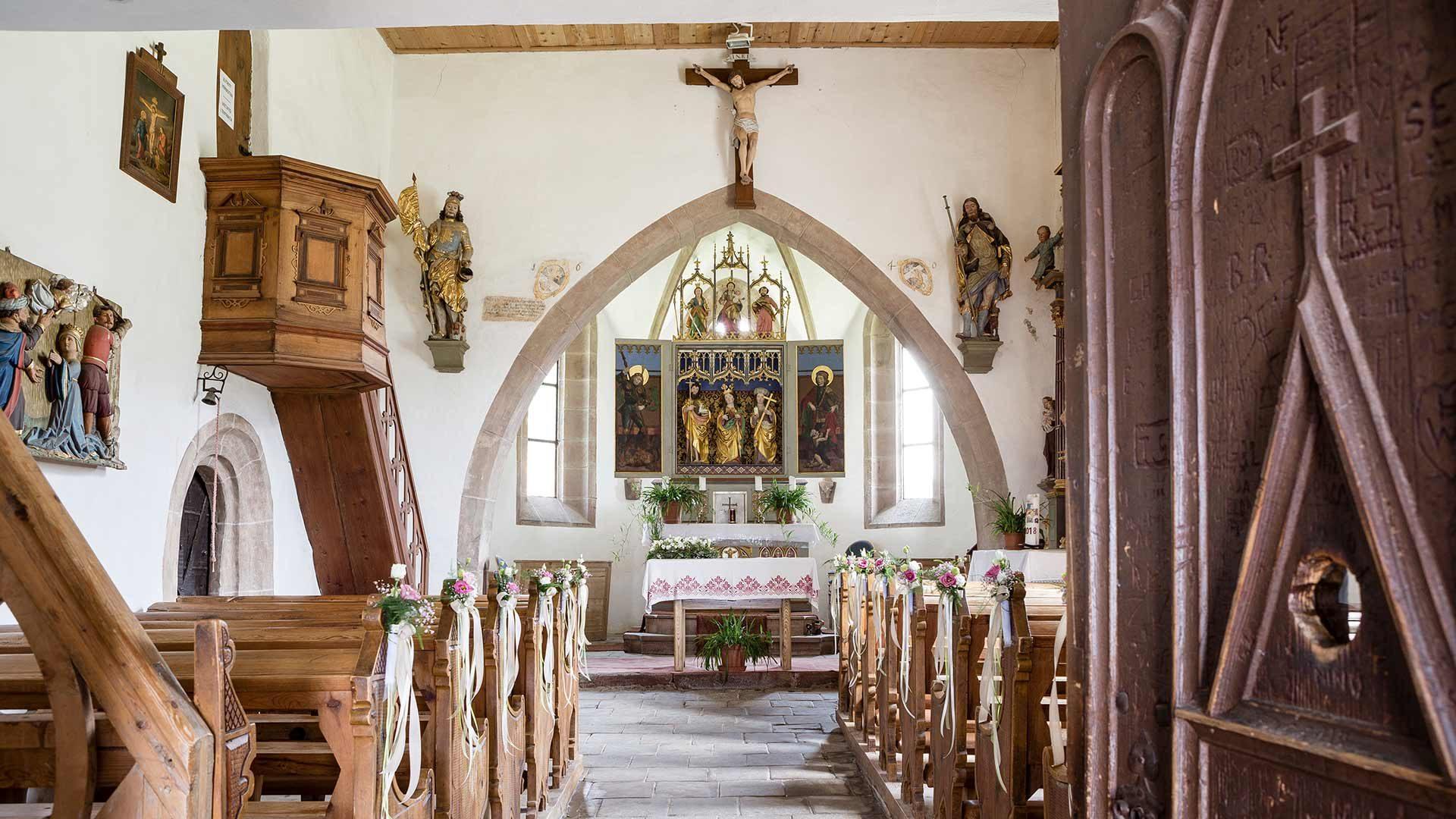 Chiesetta di Santa Caterina - Altare