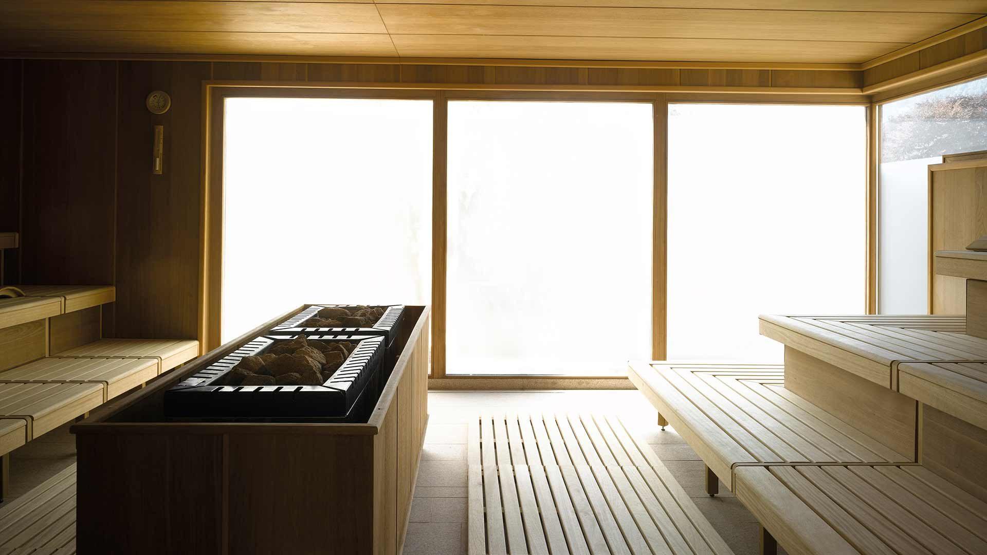 Terme Merano - sauna