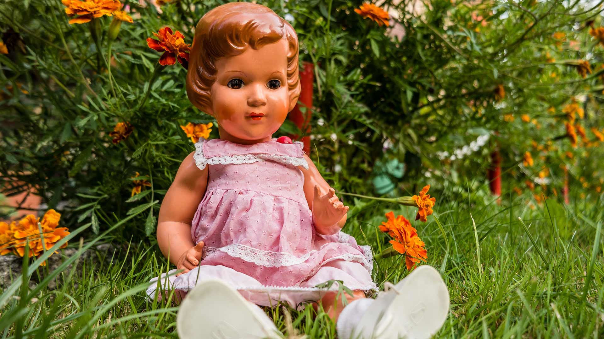 Antica collezione di bambole