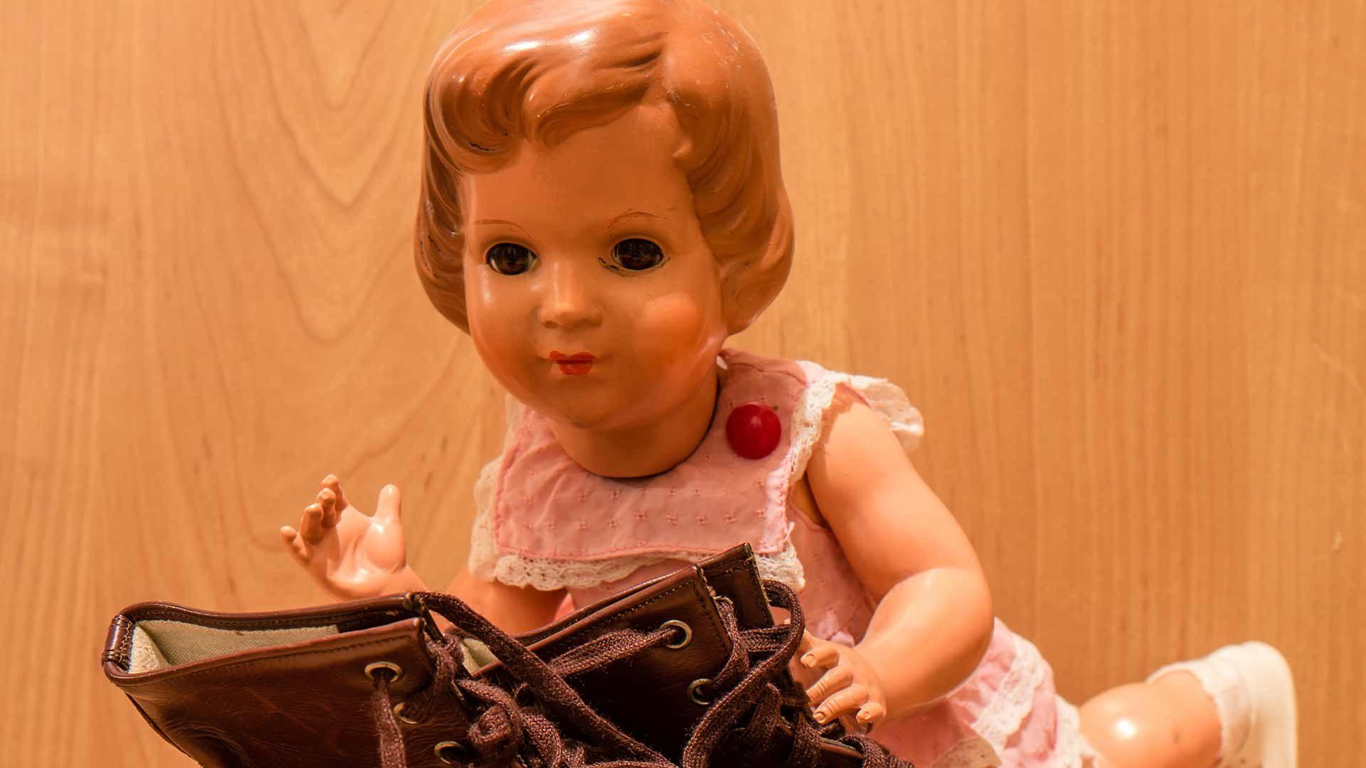 Antica collezione di bambole in Val Passiria