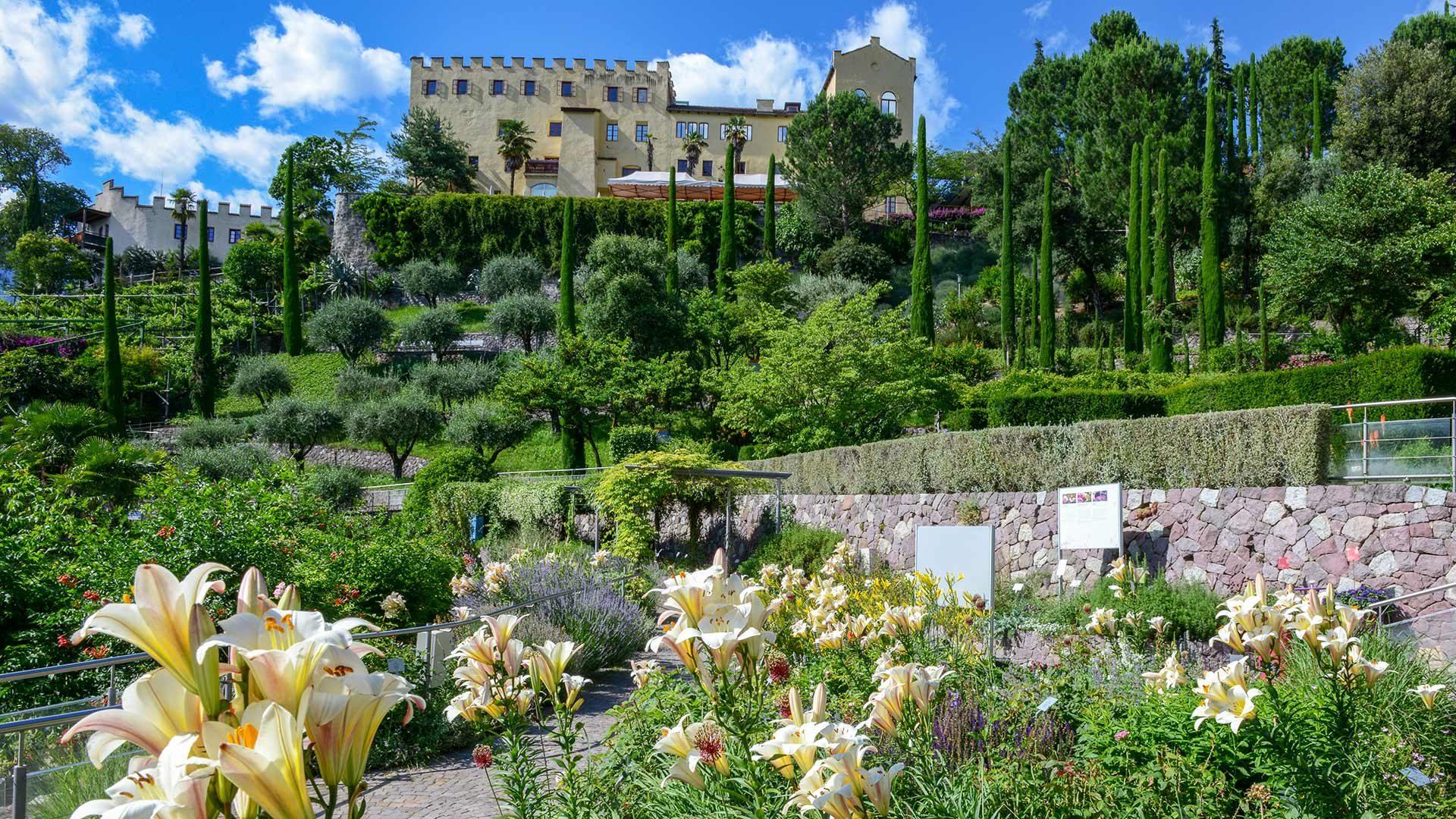 Giardini di Castel Trauttmansdorff a primavera
