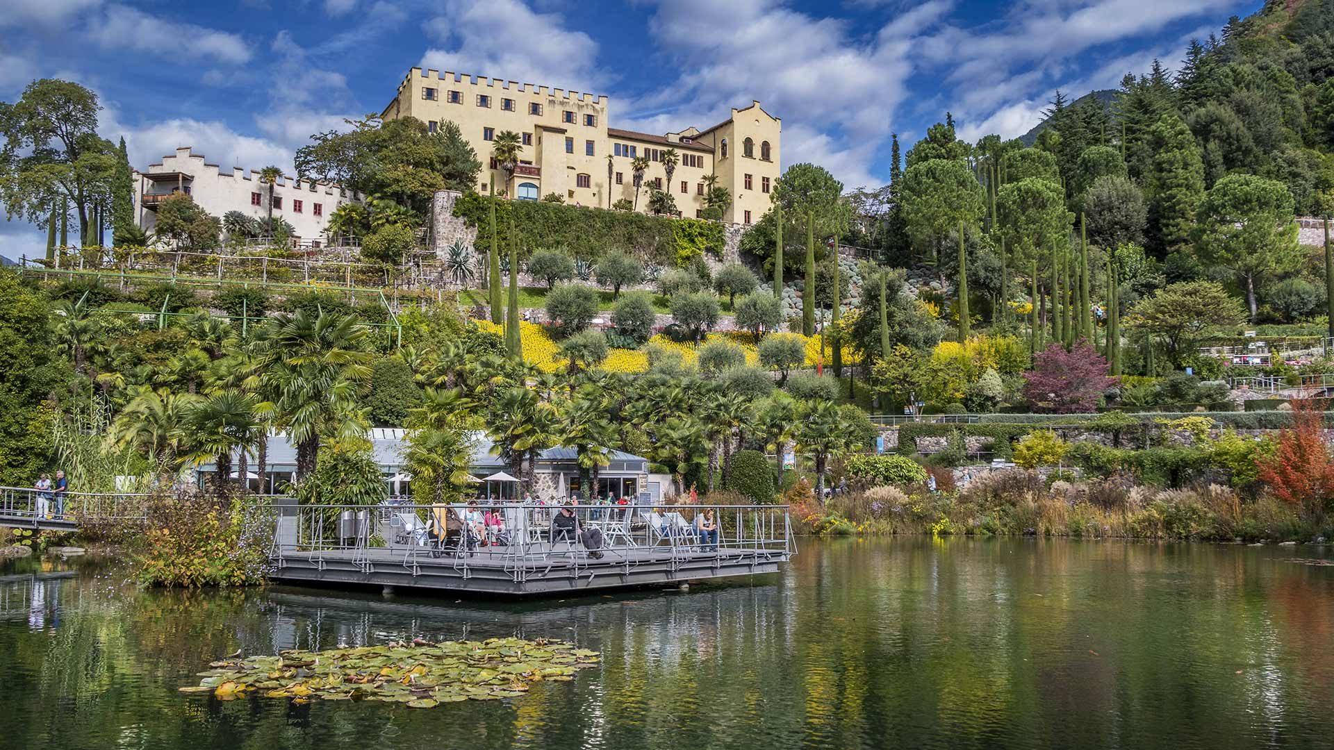 Giardini di Castel Trauttmansdorff a Merano in Alto Adige