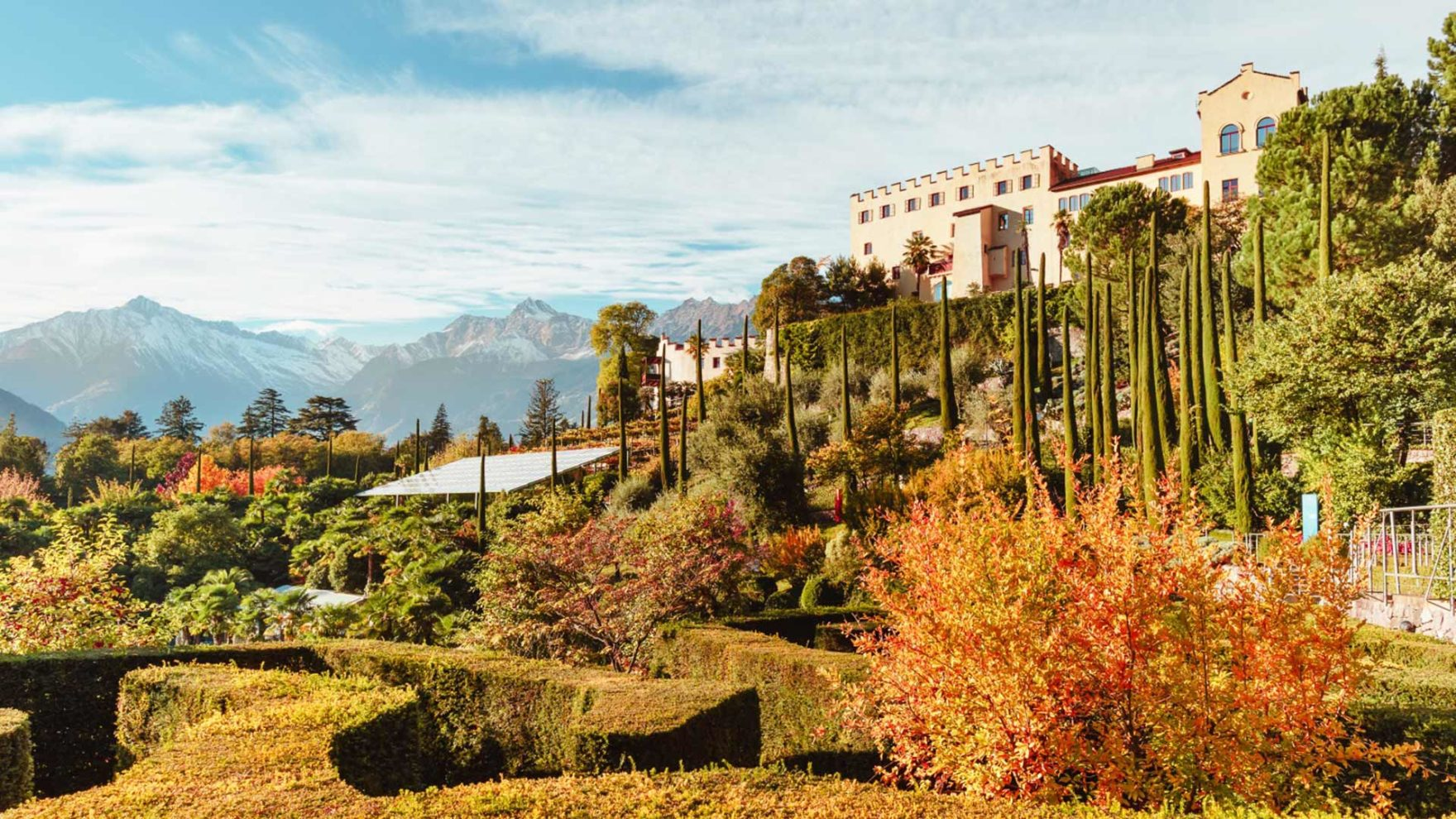 I Giardini di Castel Trauttmansdorff in autunno