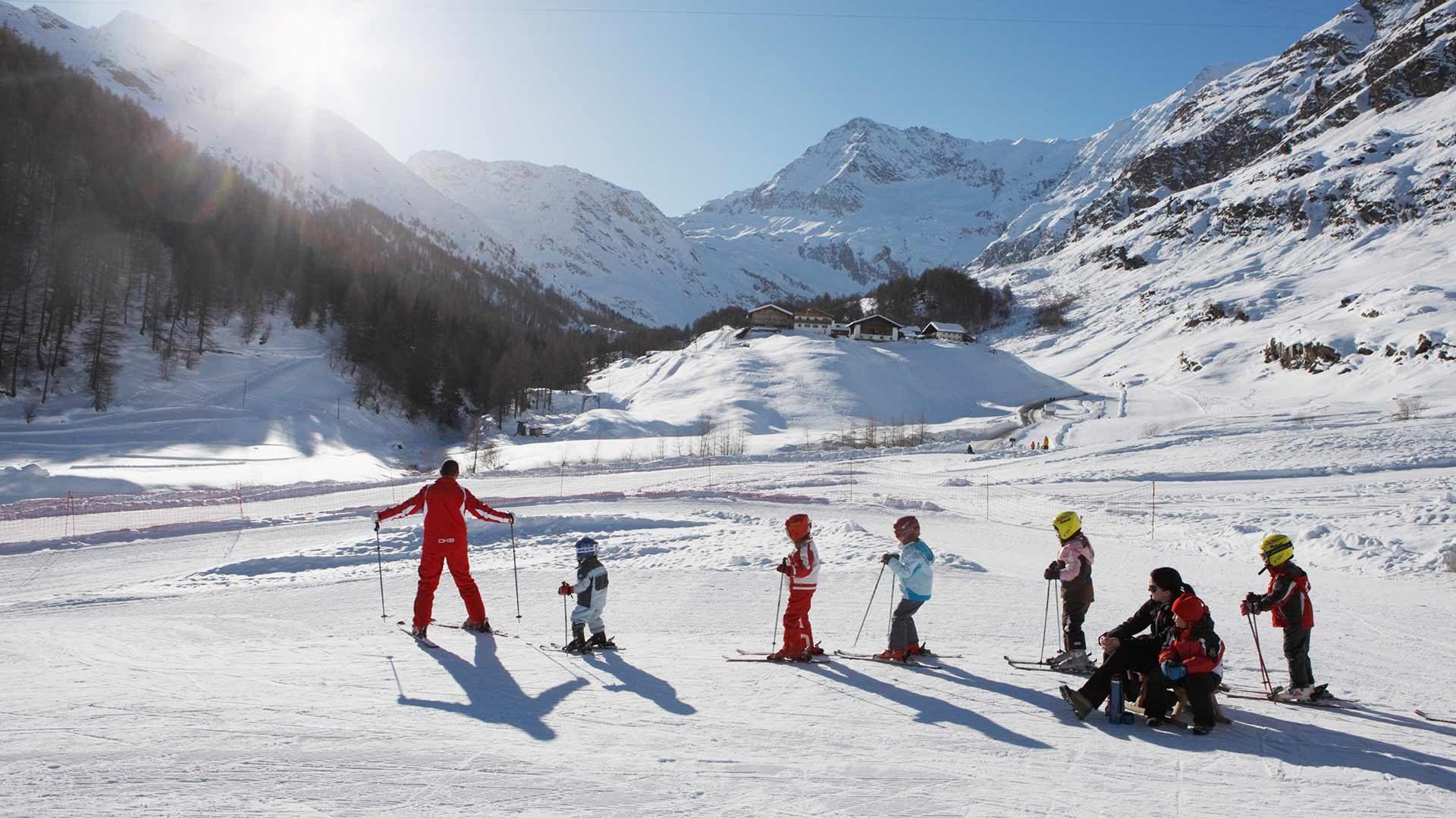 Area sciistica Plan Val Passiria in Alto Adige