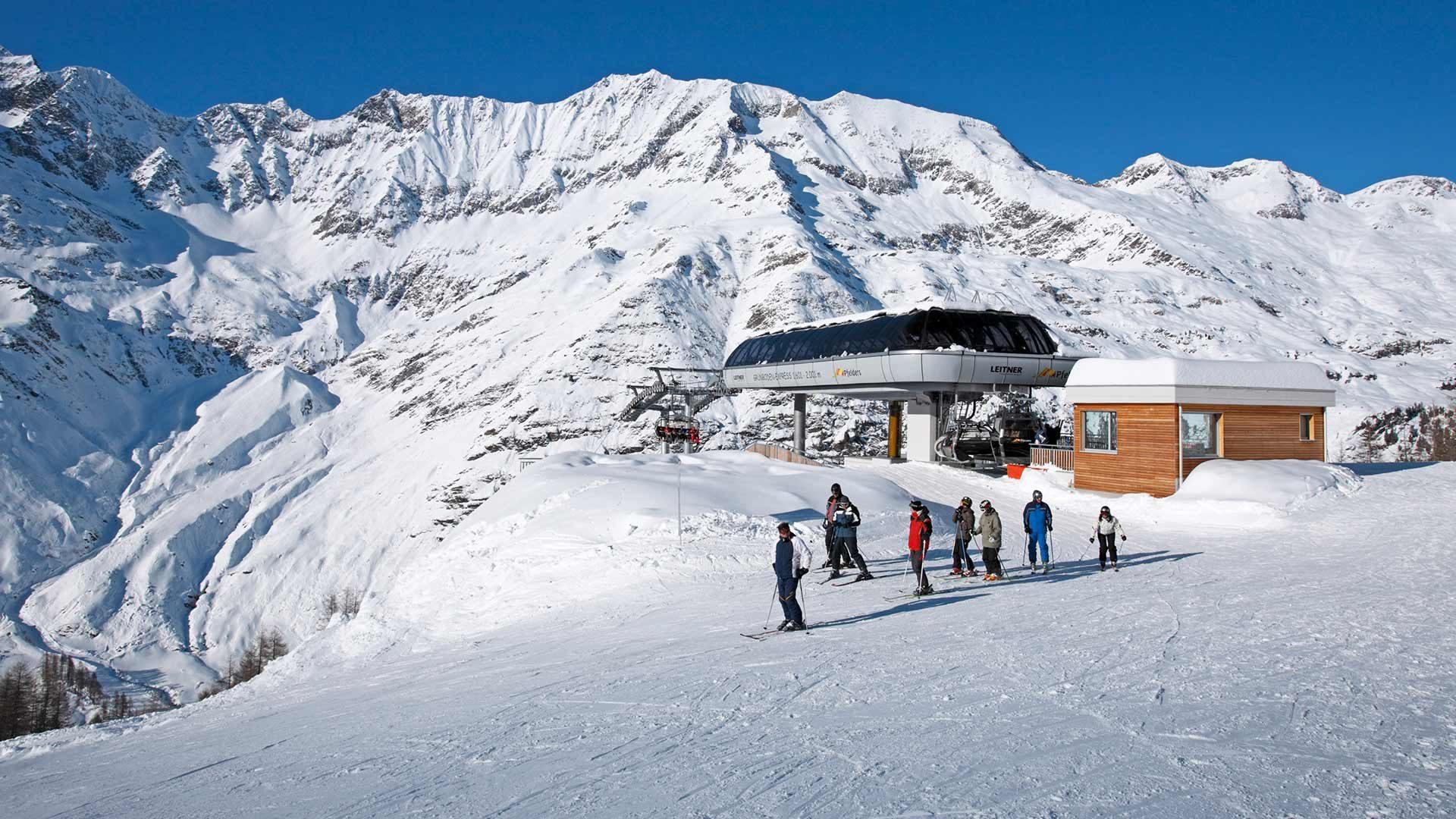 Area sciistica Plan Val Passiria - Sciare