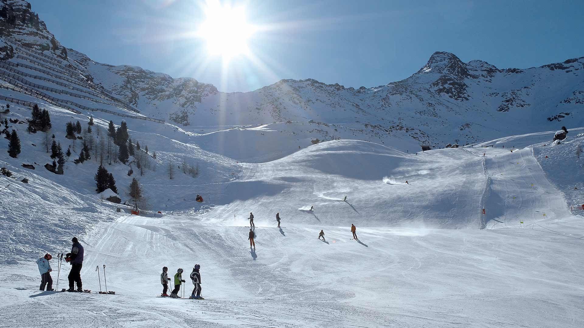 Area sciistica Plan in Val Passiria