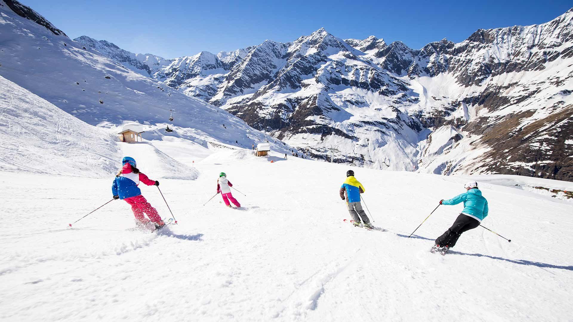 Sciare - Area sciistica Plan Val Passiria
