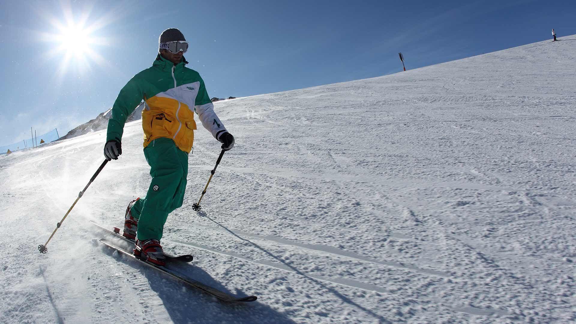 Ghiacciaio di Senales - sciare