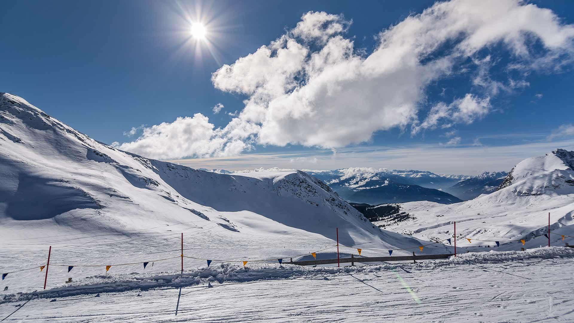 Panorama - Area sciistica del ghiacciaio di Senales