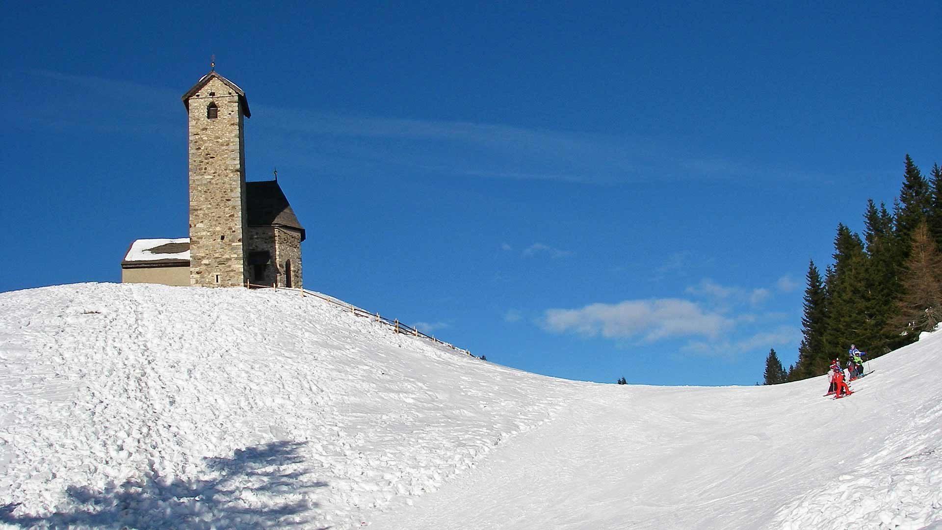 Area sciistica Monte San Vigilio - sciare