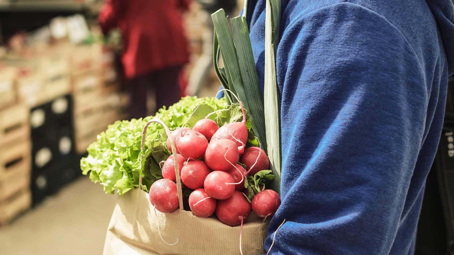 Mercato contadino a S. Valburga