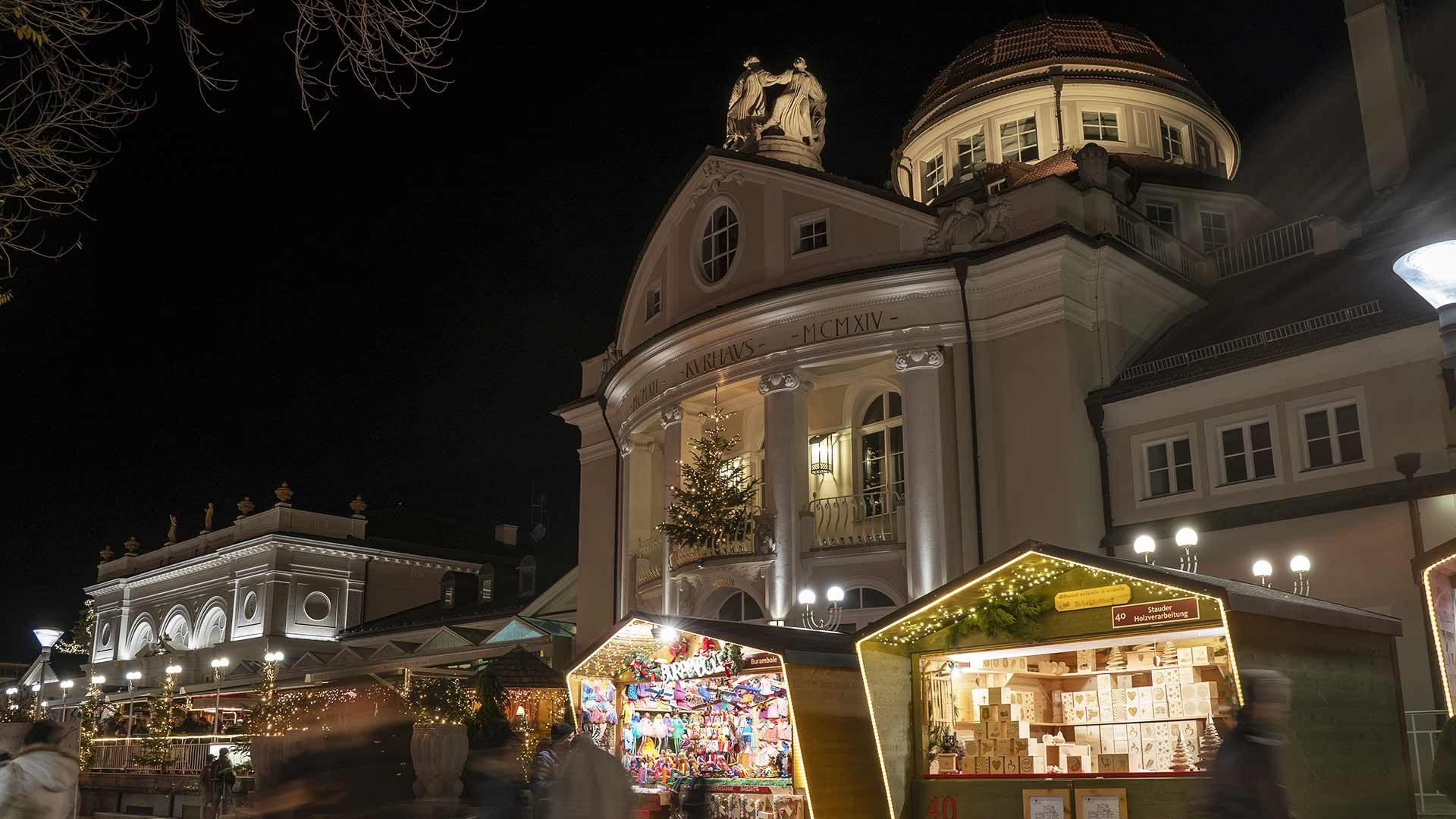 Mercatino di Natale a Merano - Kurhaus