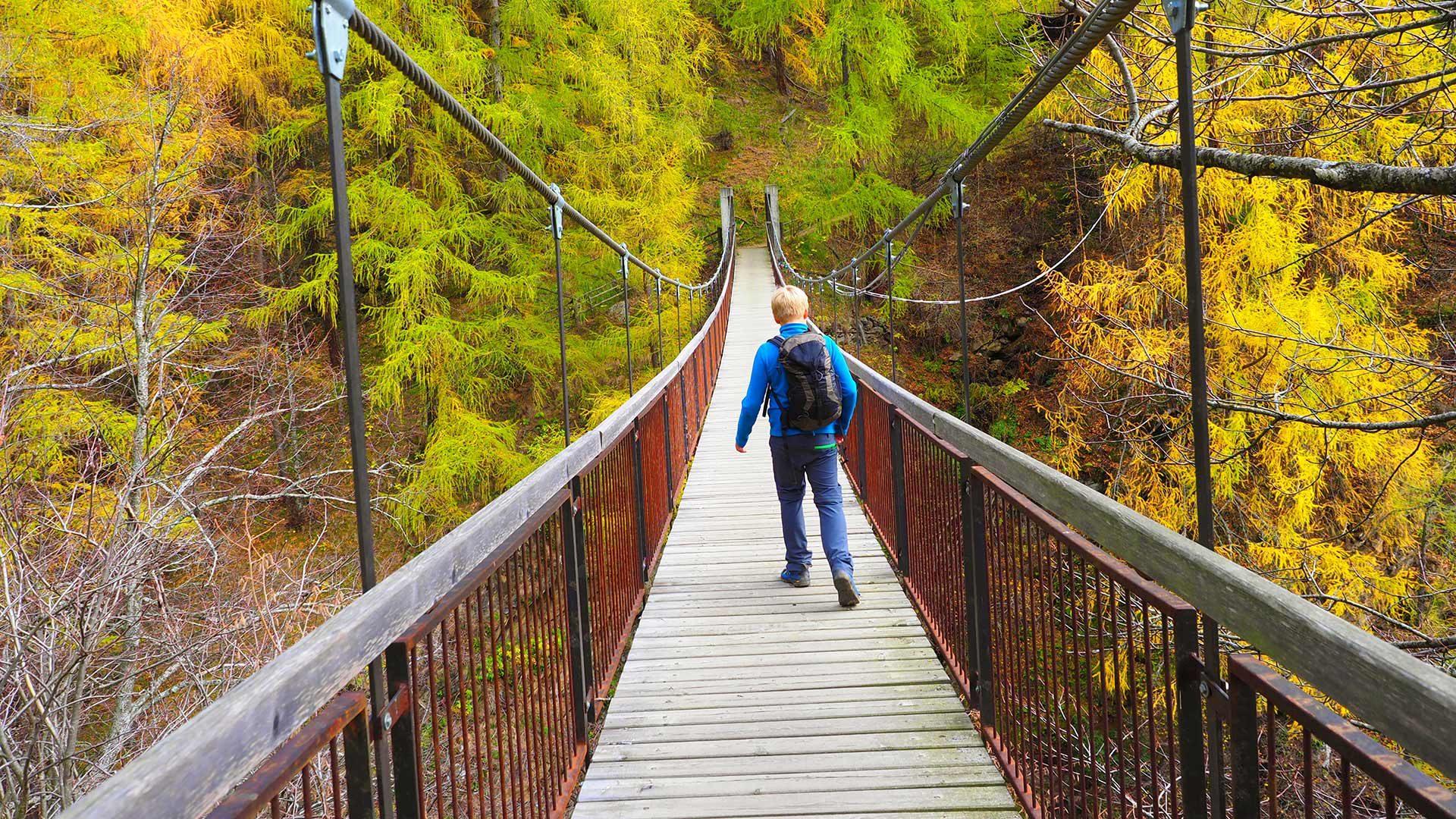 Sentiero nella Gola dei 1000 scalini
