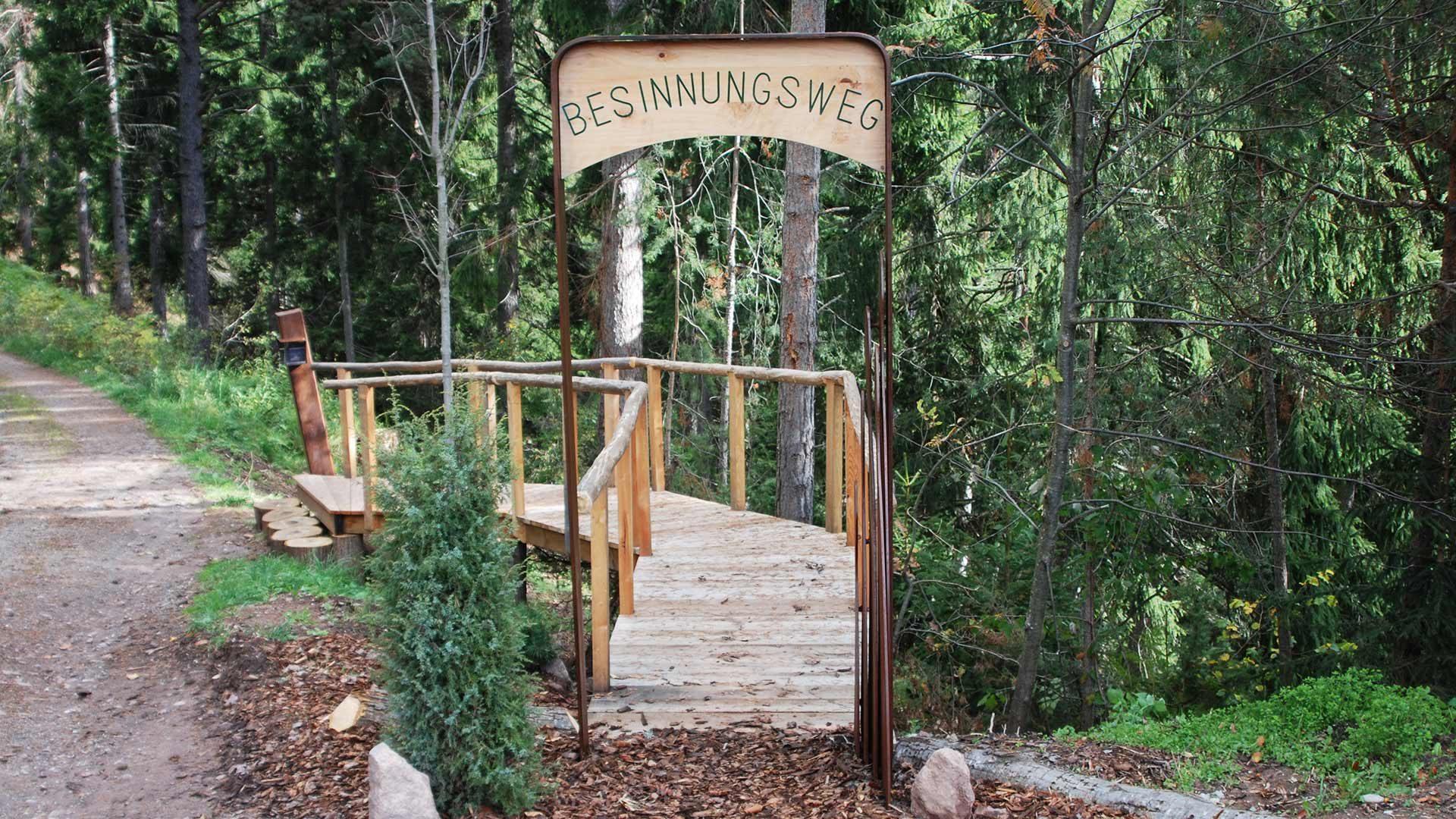 Sentiero della meditazoine a Verano