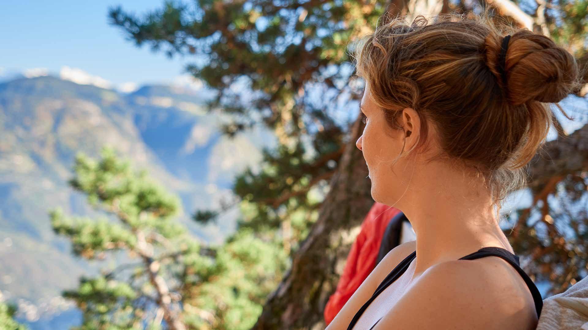 Tappa dell'Alta Via del Tirolo