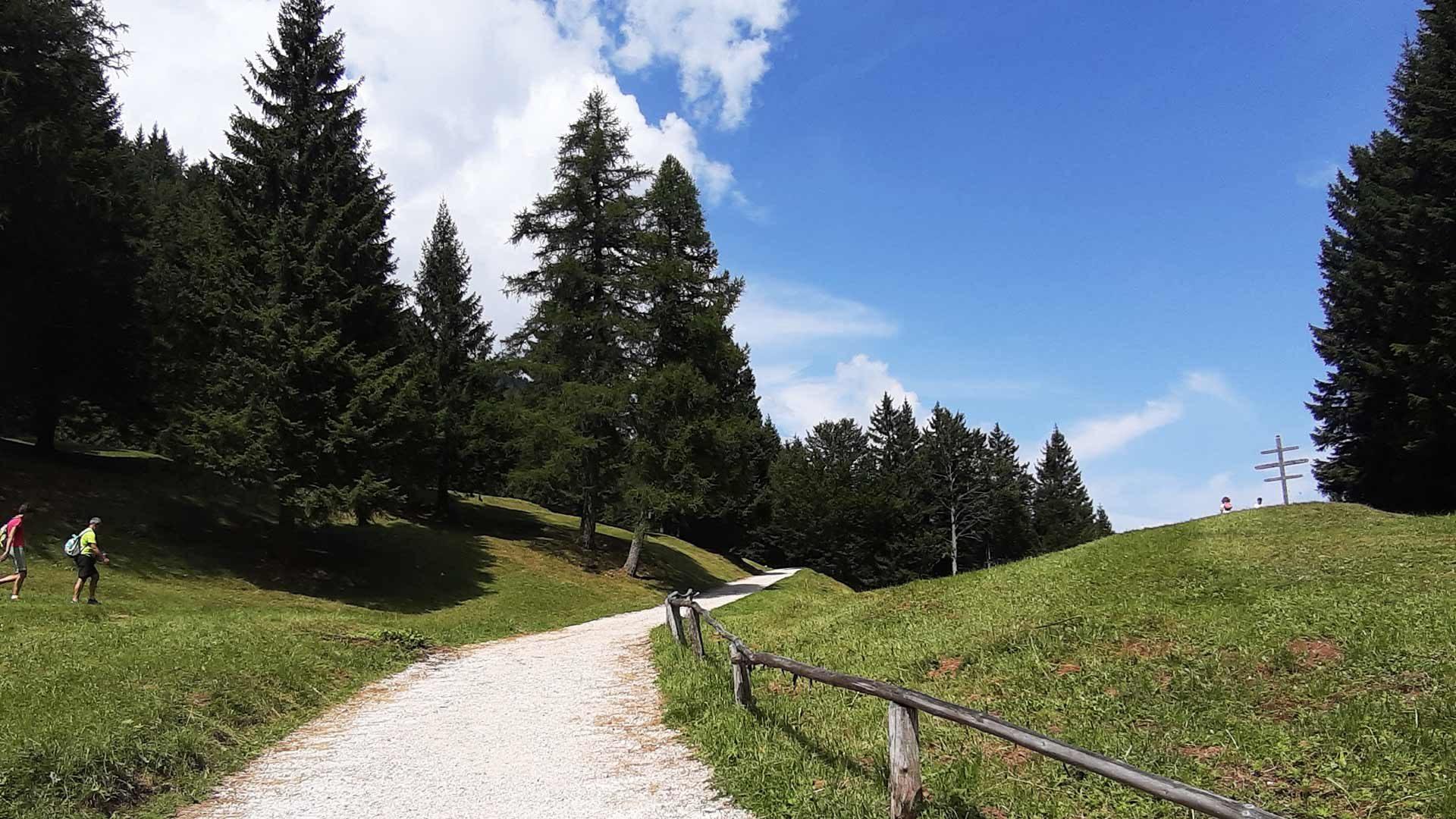 Escursione alla Malga Laugen