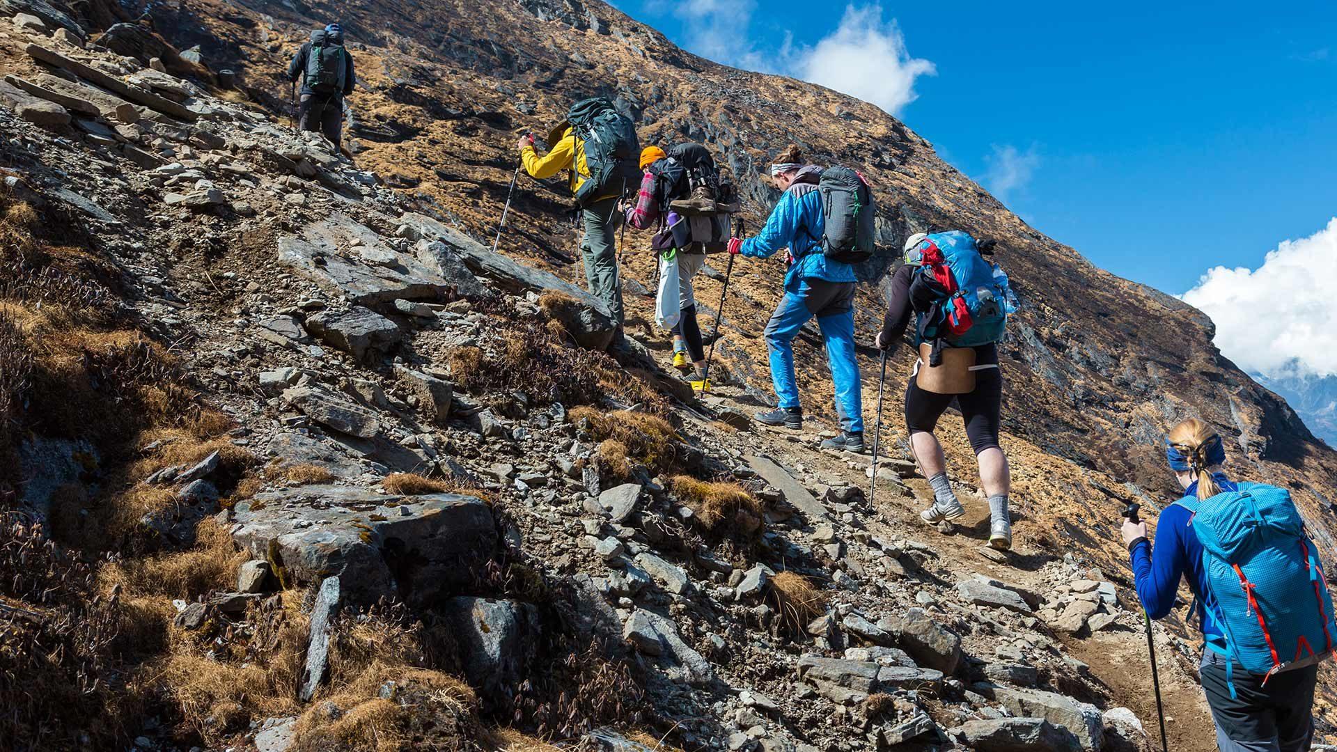 Alla cima Montaccio