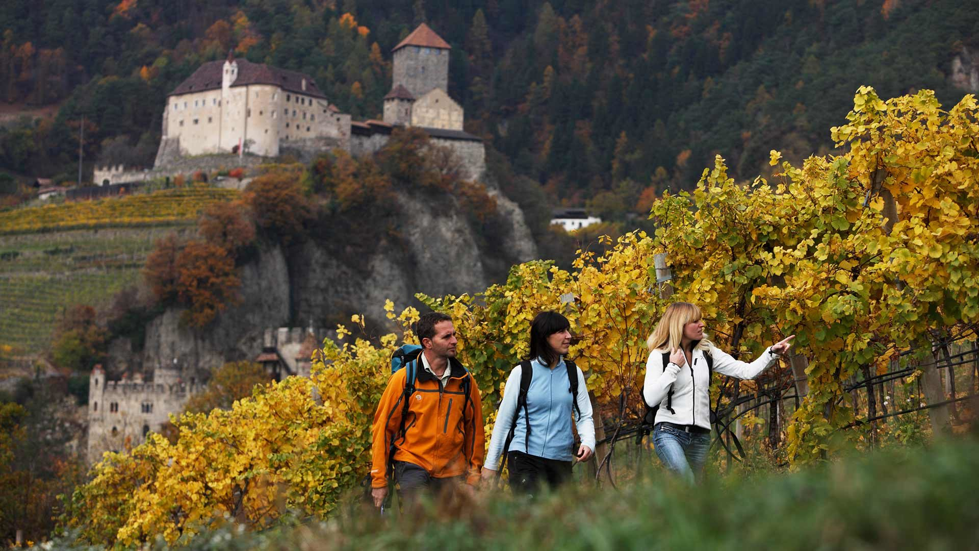 Merano - Gaveis - Val Sopranes - Tirolo - Merano
