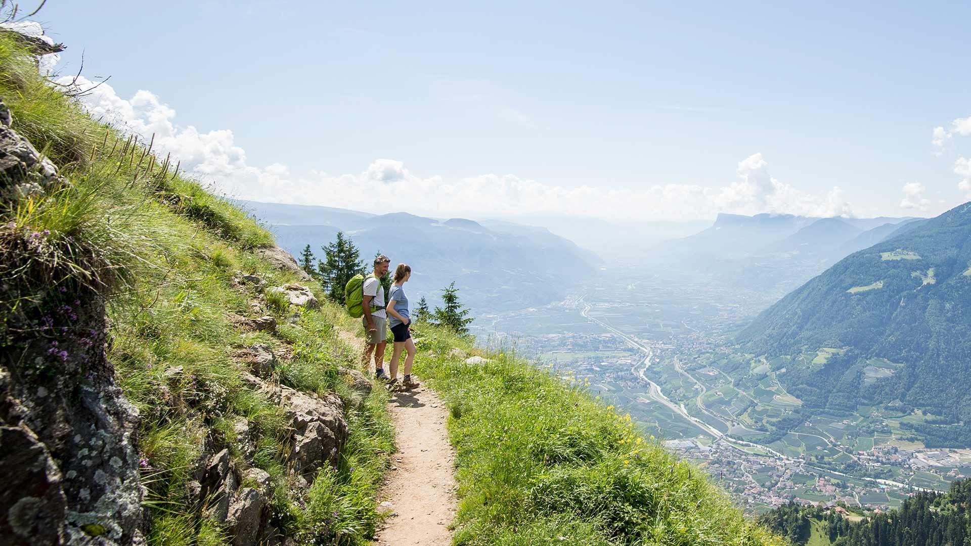 L'Alta Via di Merano nel Parco Naturale Gruppo di Tessa