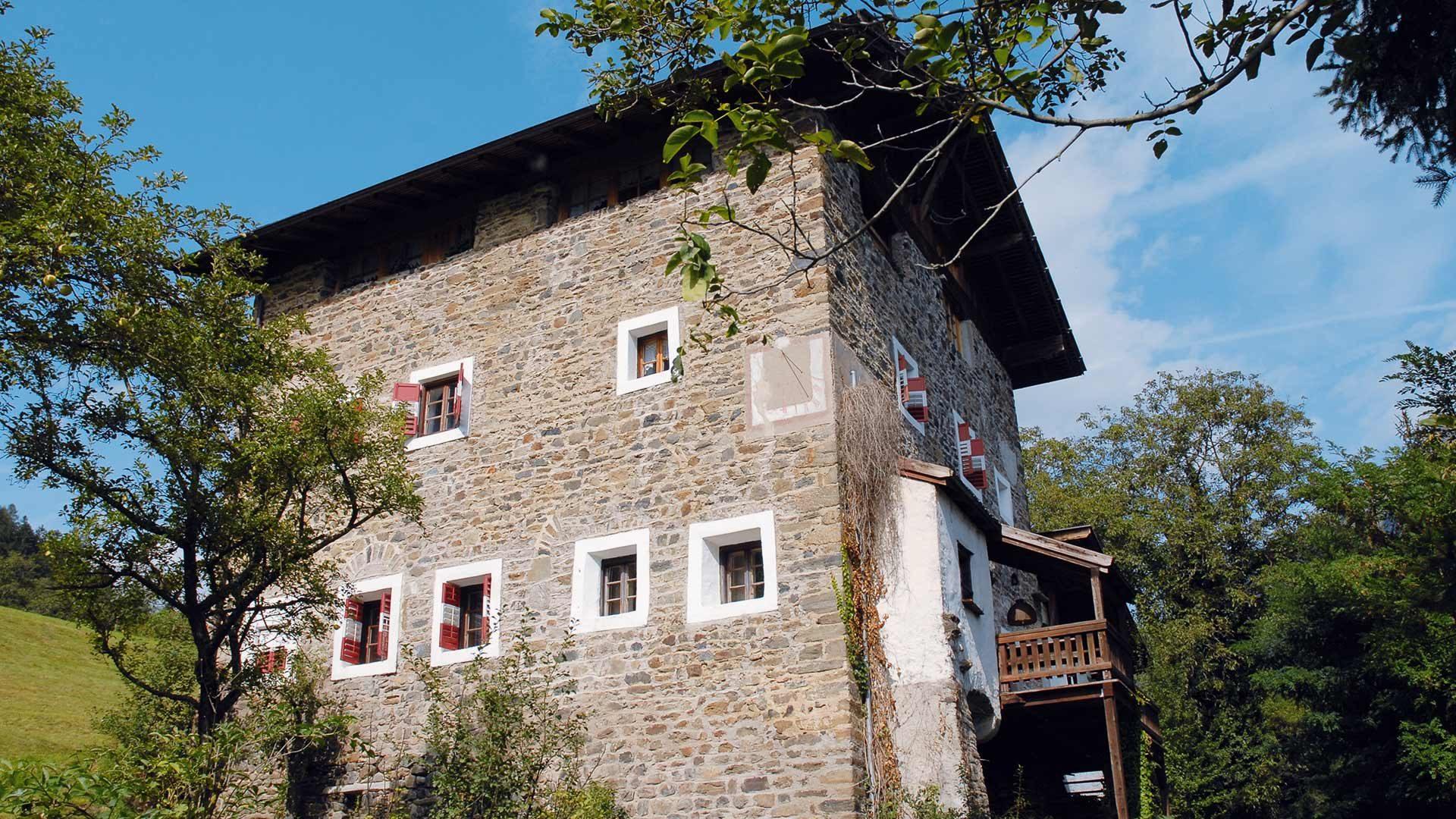 Passeggiata dei masi dello Scudo - Val Passiria