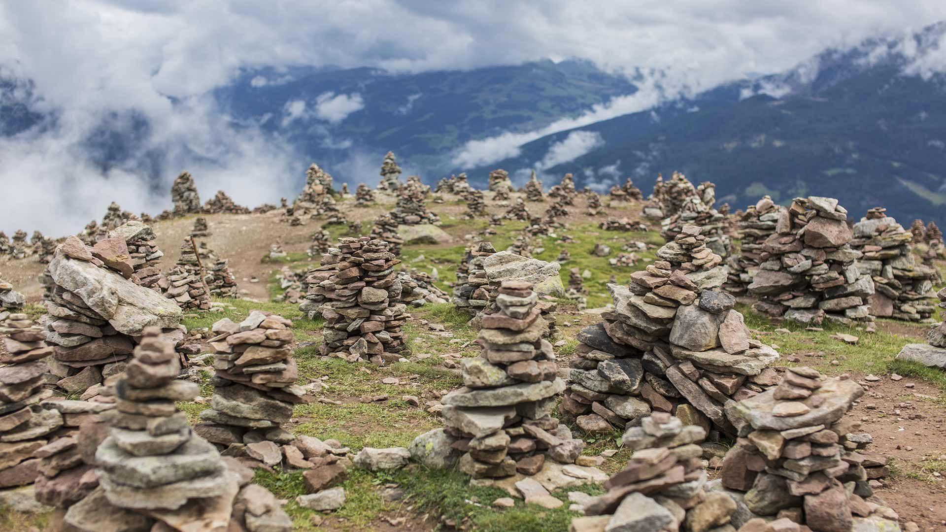 Escursione agli Ometti di pietra
