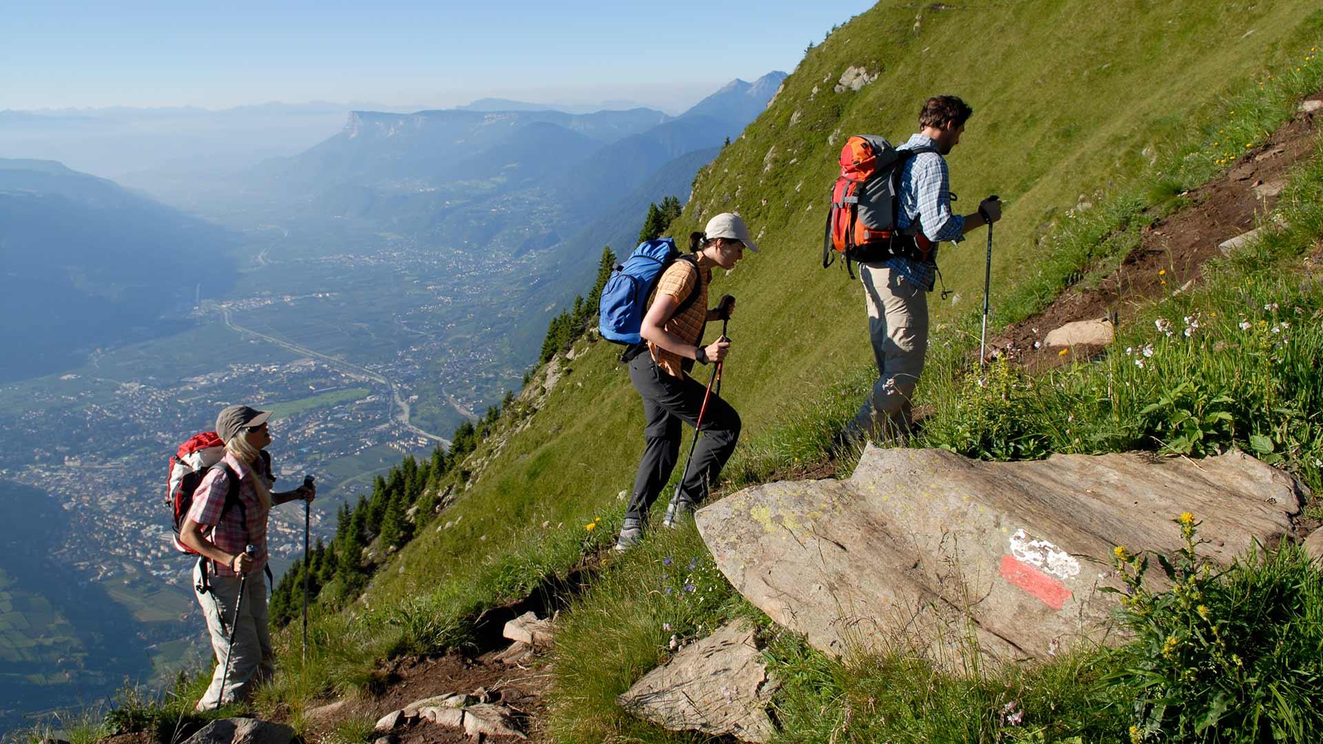 Sentiero escursionistico a Tirolo